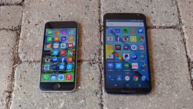 iOS vs Android 2015
